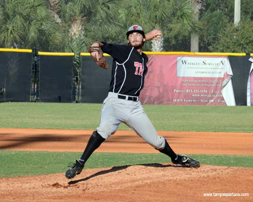 Sean Bierman hopes to lead a deep and talented Spartan pitching staff in 2012.