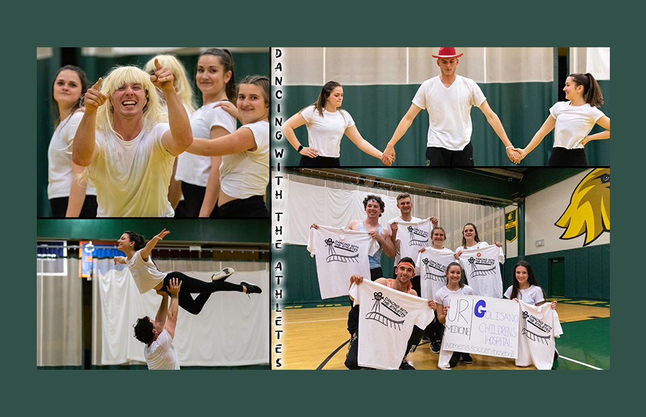 Golden Eagles raise $1,700 in Ninth Annual Dancing with the Athletes Event