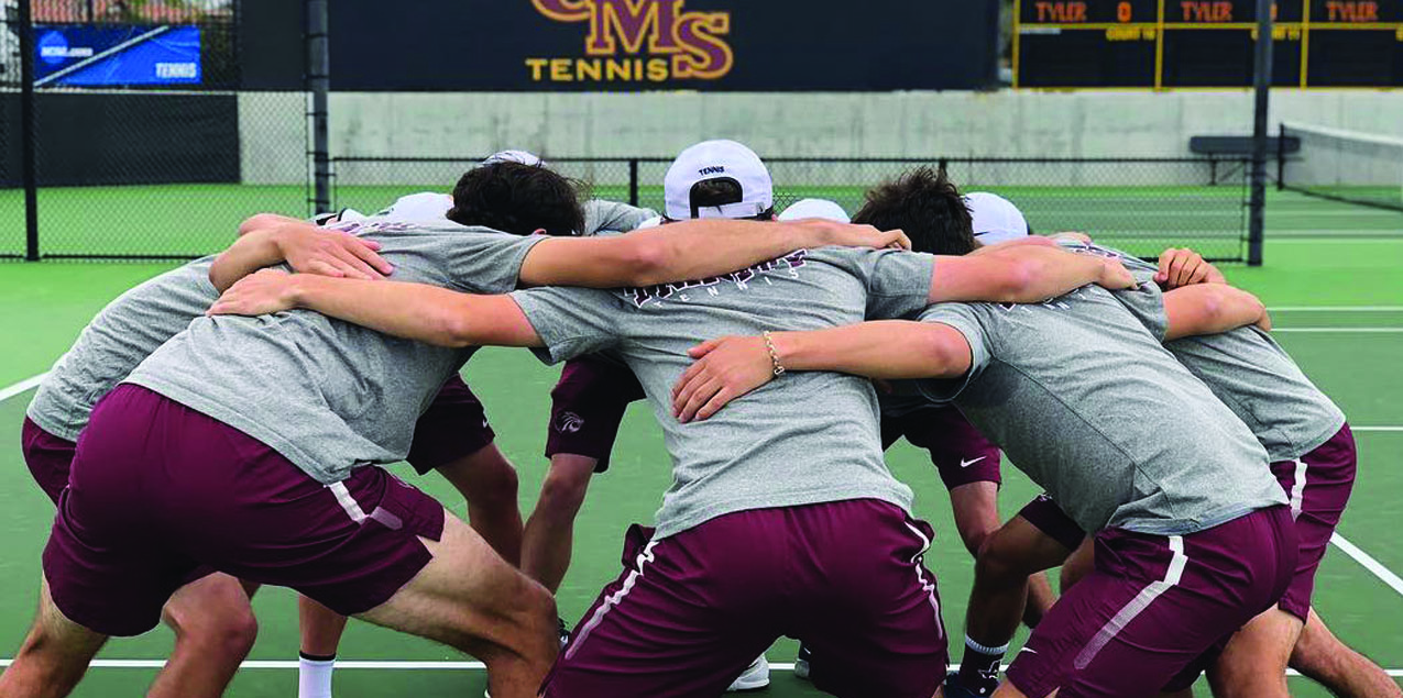 Trinity Men's Tennis Defeats UT-Tyler to Open NCAA Tournament
