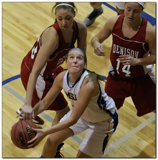 Mount women's basketball team suffers home loss to HCAC-leader Transylvania University