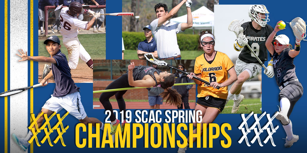 2019 SCAC Spring Championships - Tournament Links