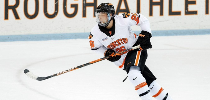 Princeton falls to Brown in Game 1 of ECAC Hockey First Round