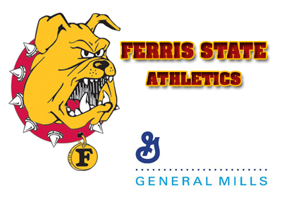 Ferris State Athletics and General Mills will continue their active role in community service-related projects.