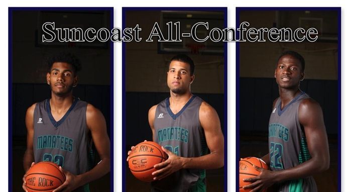 Three Manatees Named to All-Suncoast Team