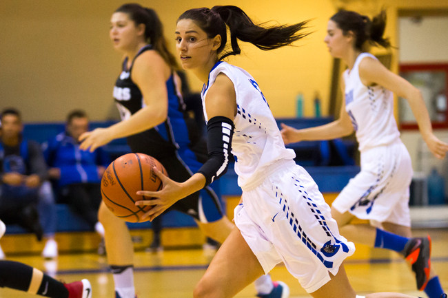 WOMEN'S BASKETBALL RUN OUT OF STEAM IN HOME OPENER