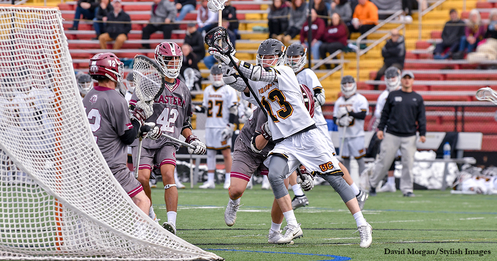 McClure's Rampage Powers Men's Lax Past Eastern