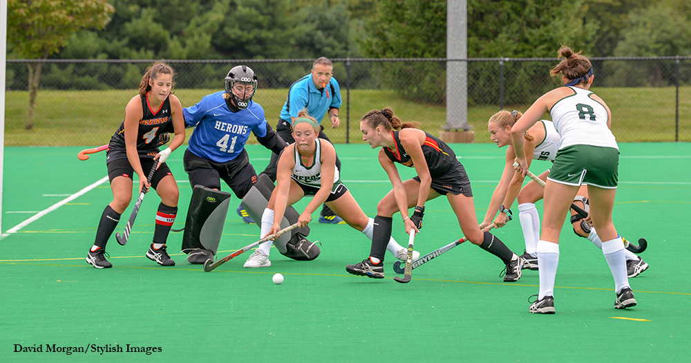 Field Hockey Handles Herons in Home Opener