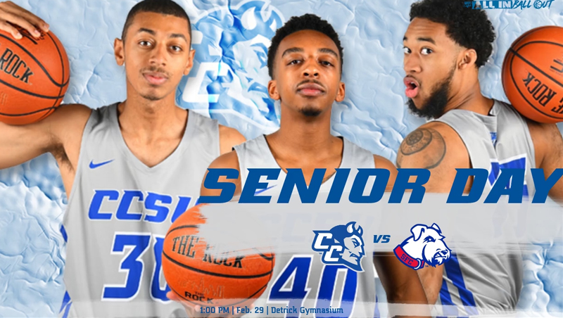 Men's Basketball Hosts St. Francis Brooklyn for Senior Day Saturday