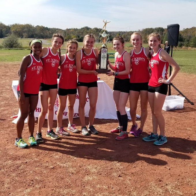 2017 Girl's Cross Country Champions St. John's College