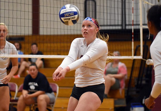 Volleyball: Norwich Drops Opener at Morrisville State