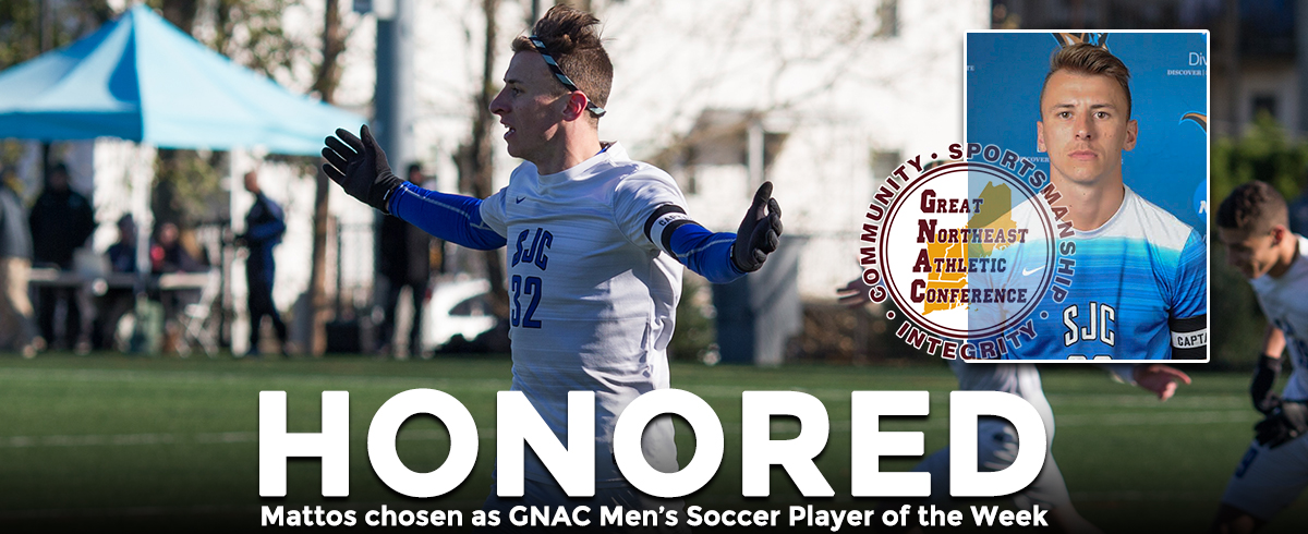 GNAC Selects Mattos as Offensive Player of the Week
