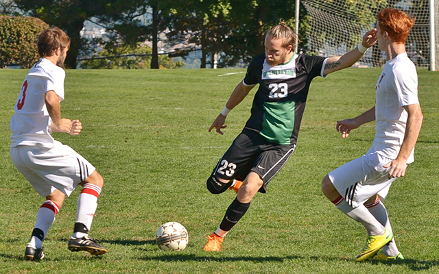 Early Half Goals Extend Wilmington Men's Soccer's Winning Streak to Seven Straight with 2-1 Victory at Nyack