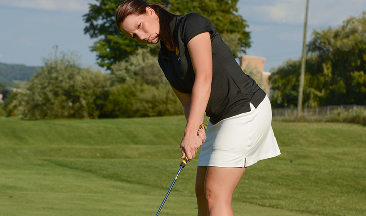 """MEET THE BULLDOGS"" - Senior Women's Golfer Ashley Swanson"