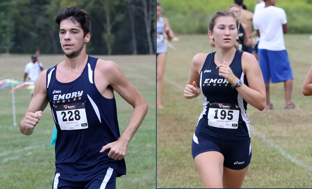 Emory Women's Cross Country Take Home Third Place At Berry Invitational; Men Place First