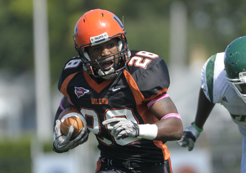 Oilers Slay Dragons, Win 50-27