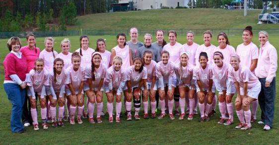 "GC Soccer ""Think Pink"" Night a Great Success"