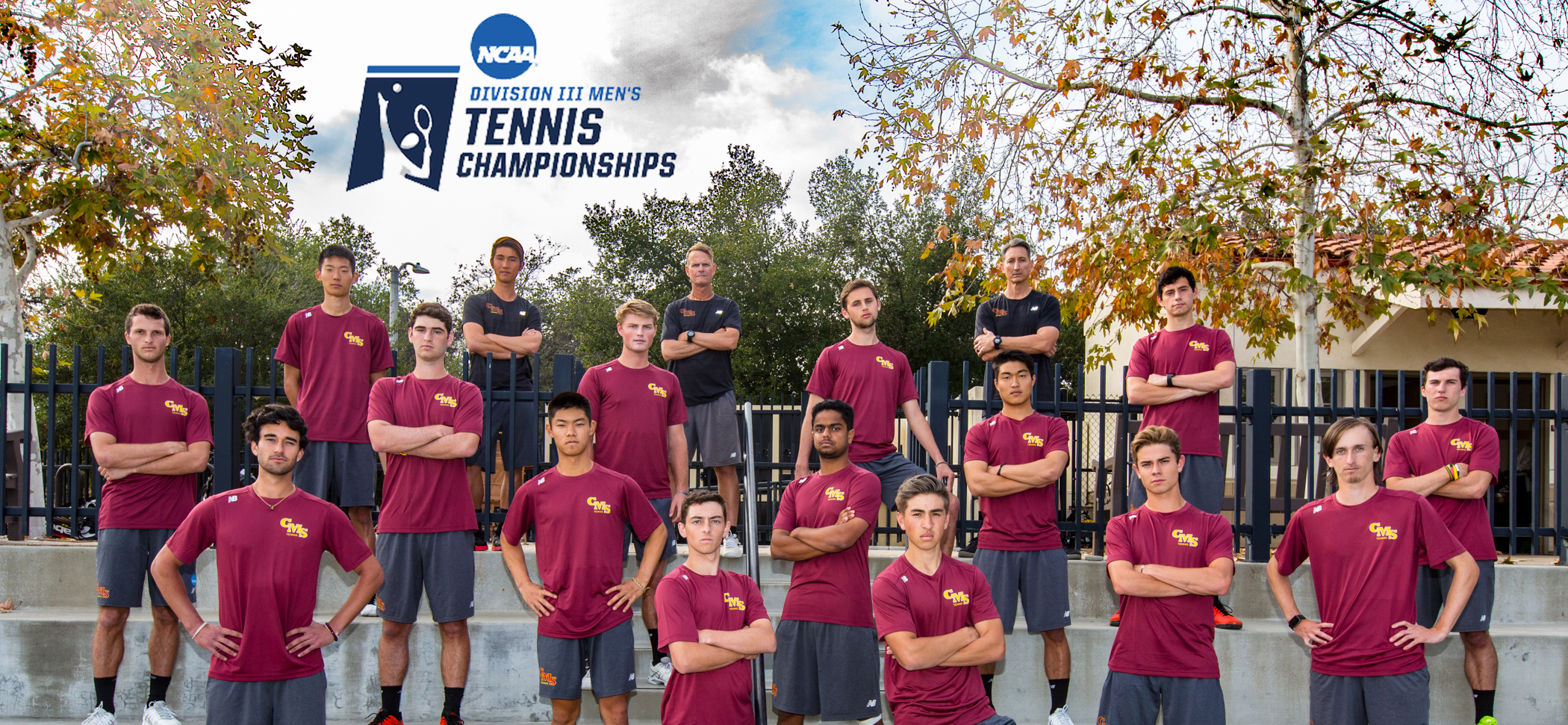CMS Men's Tennis Begins NCAA Regional Play on Friday