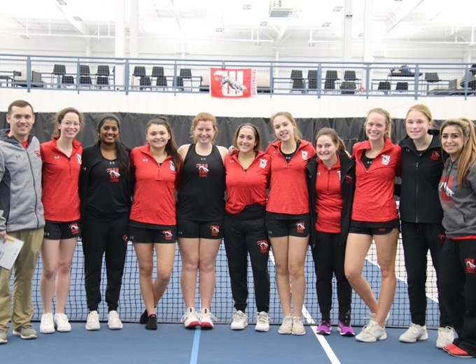 The Wittenberg women's tennis team opened their spring break trip with a 6-3 win over Transylvania on Friday afternoon