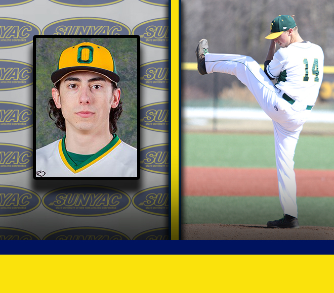Weekly SUNYAC baseball awards announced