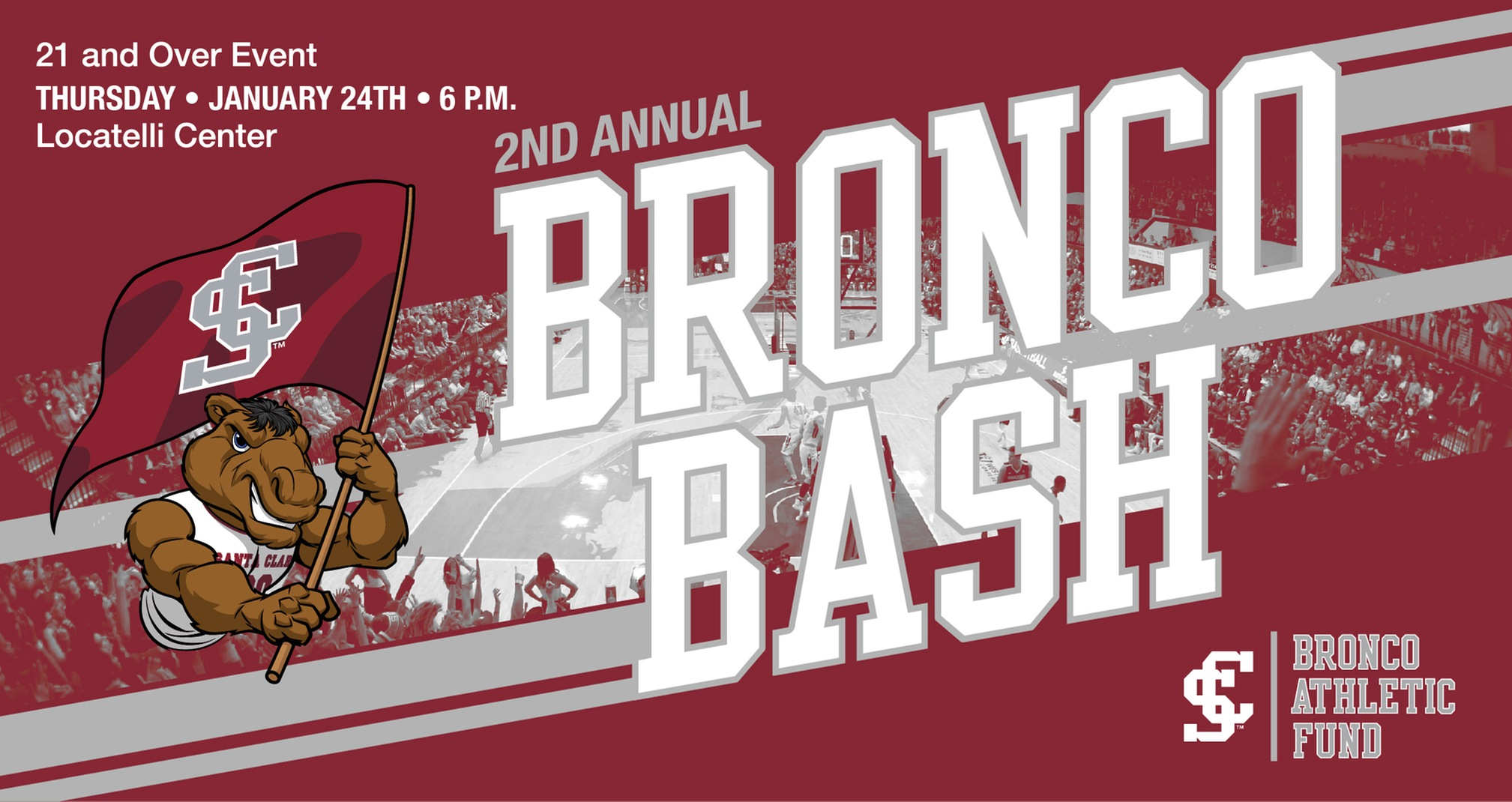 Second Annual Bronco Bash Set for January 24