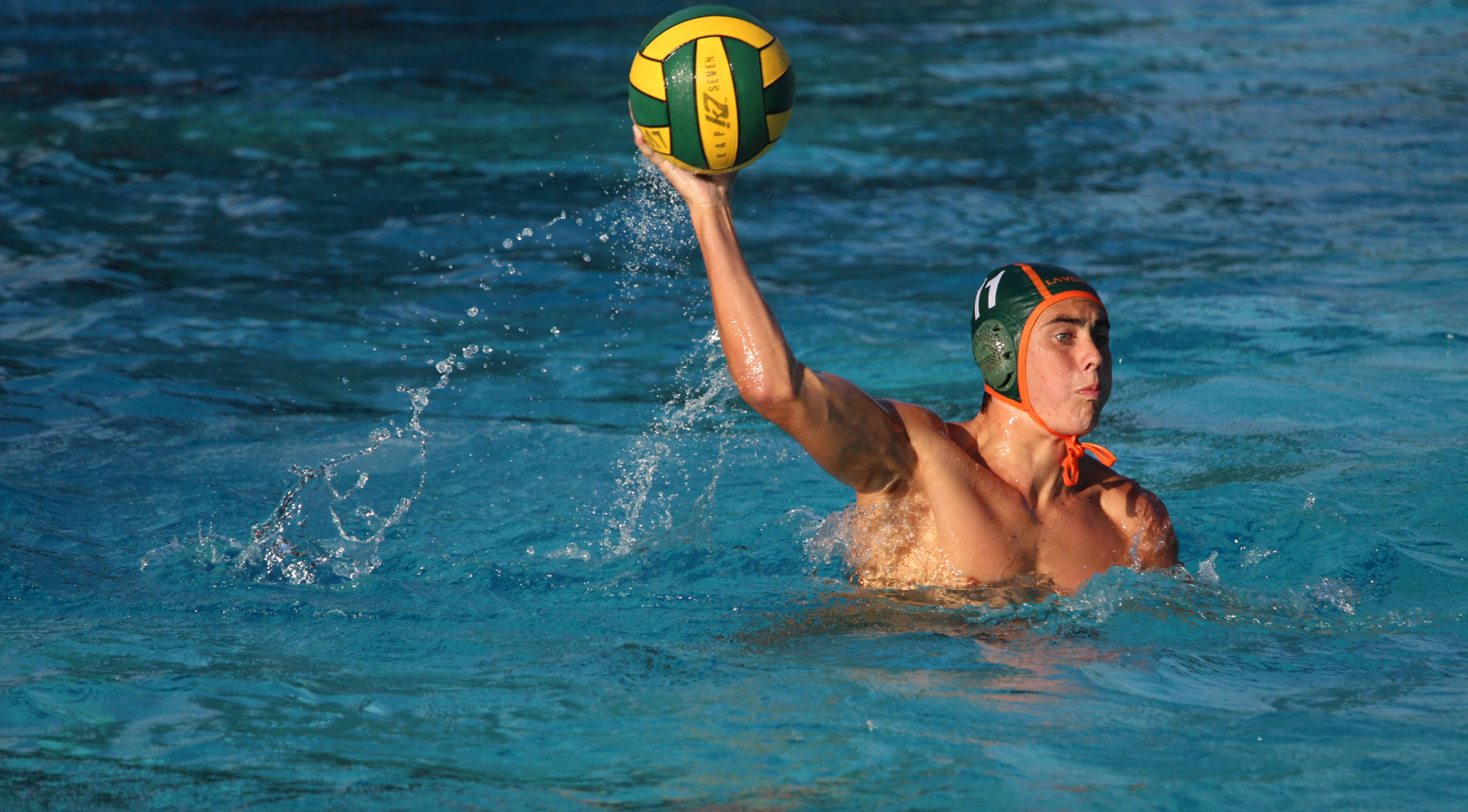 Men's Water Polo battles with Redlands