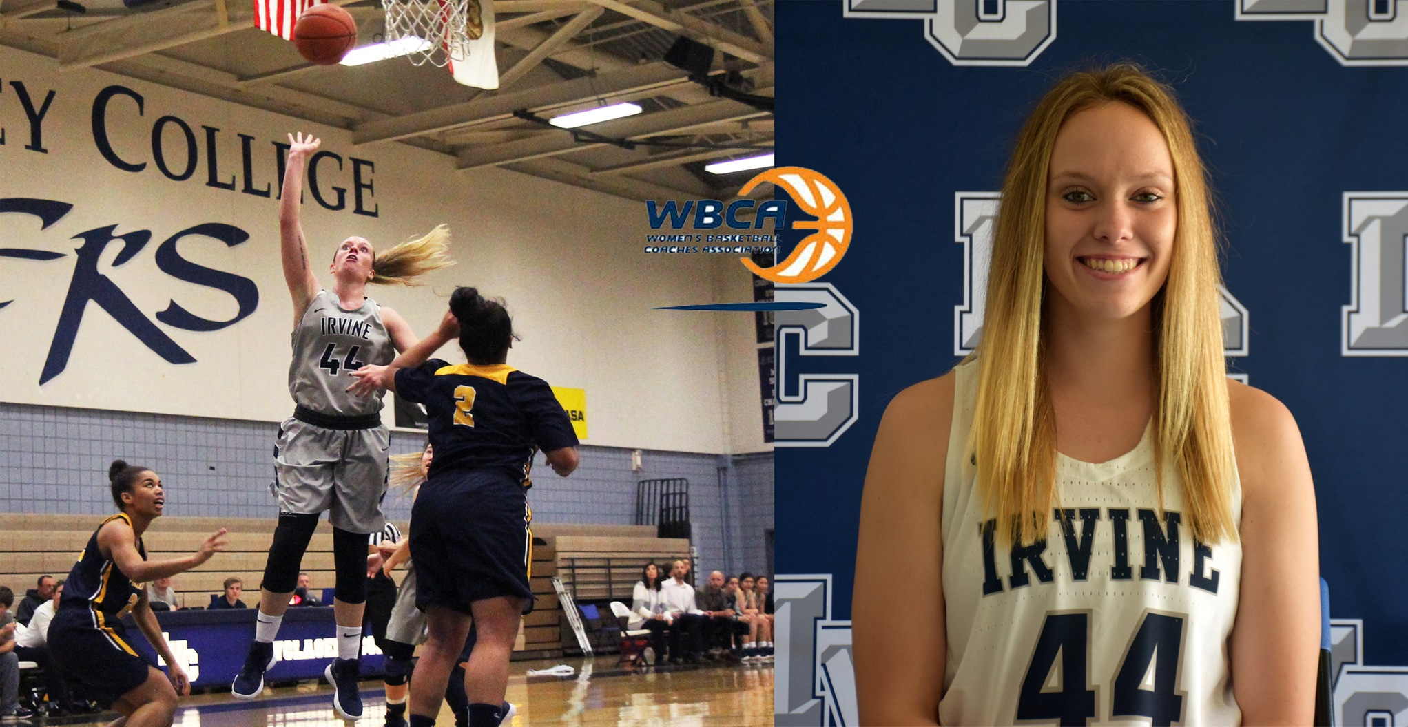 Women's basketball player Kasey Smit earns All-American honor