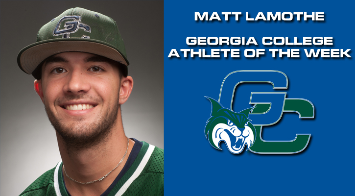 LaMothe Named GC Athlete of the Week