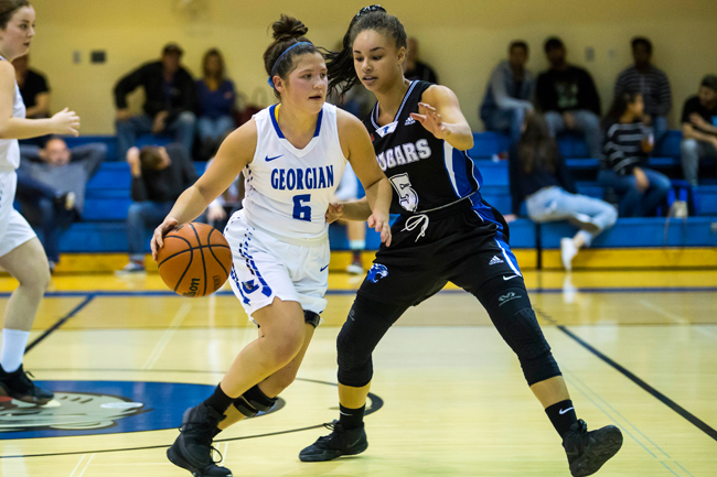 WOMEN'S BASKETBALL COMES UP JUST SHORT AT GEORGIAN CLASSIC