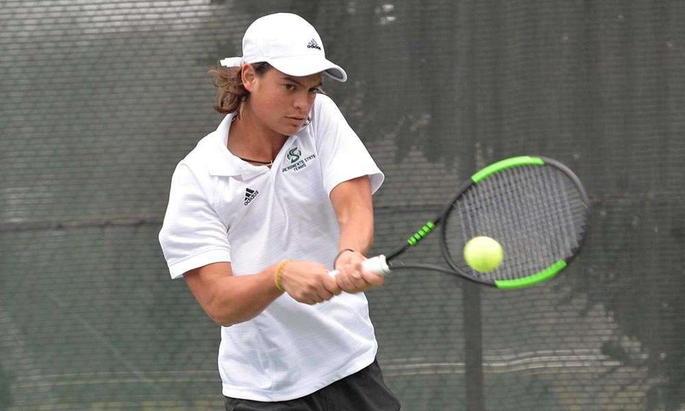 MEN'S TENNIS PICKS UP CONFERENCE WIN ON THE ROAD AT NORTHERN COLORADO