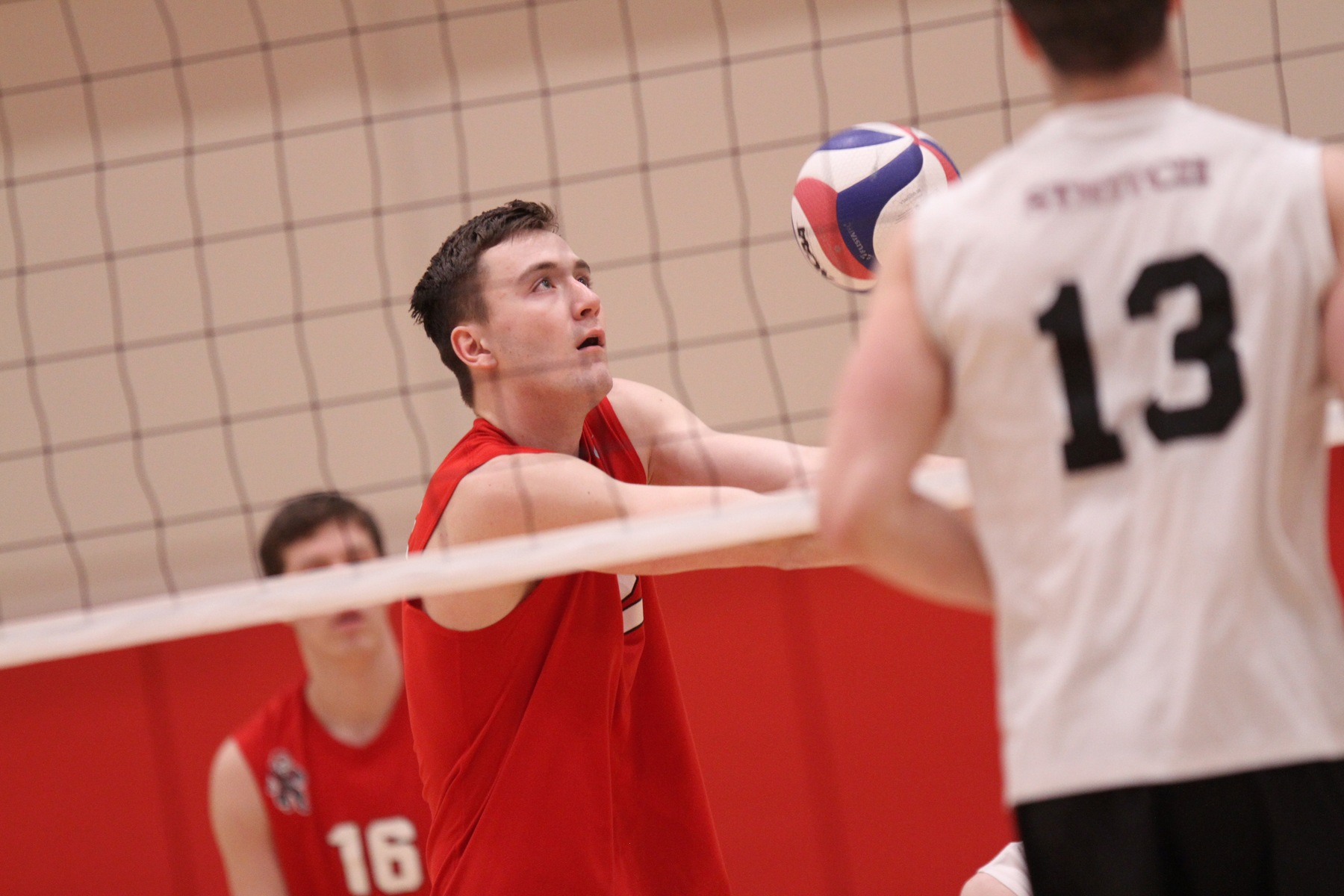 Men's Volleyball Downs Marian in Four Games