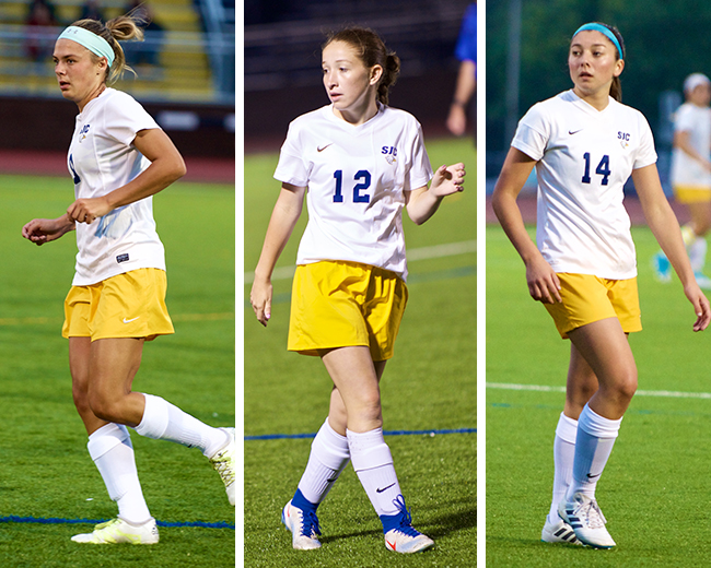 Carroll, Credidio and Gagliardi Nab Skyline All-Conference Honors