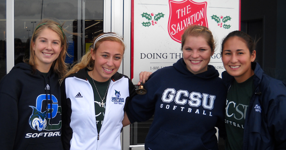 GC Softball Volunteers with the Salvation Army