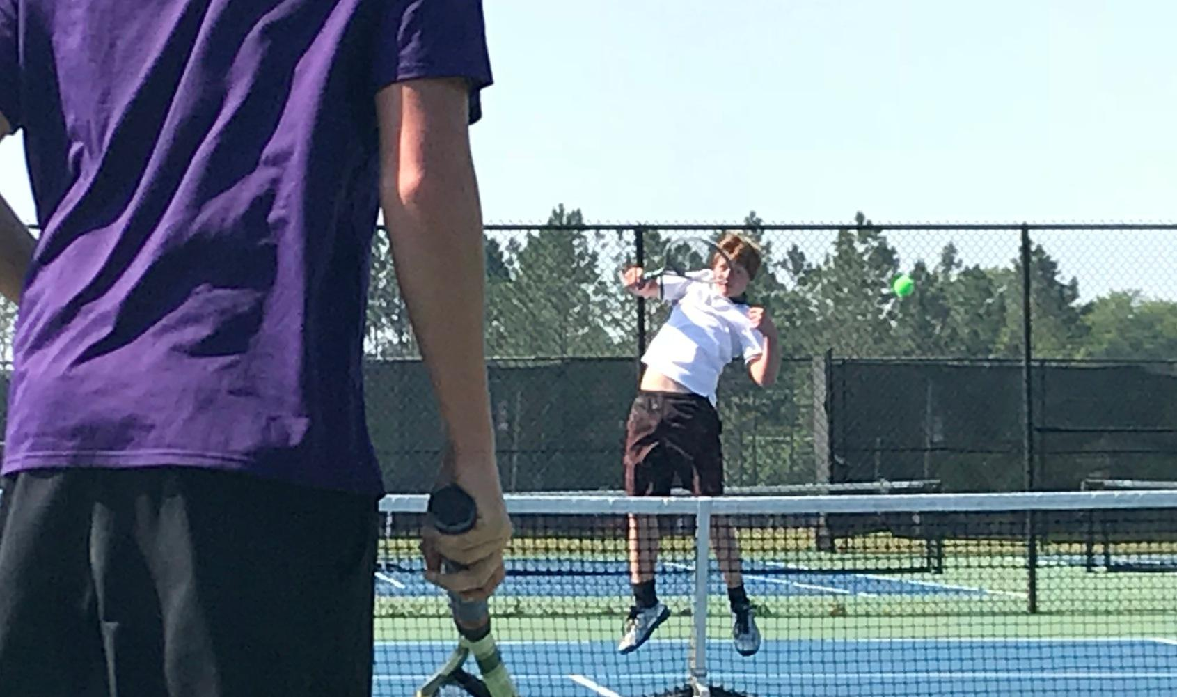 Tennis Teams fall in State Tournament