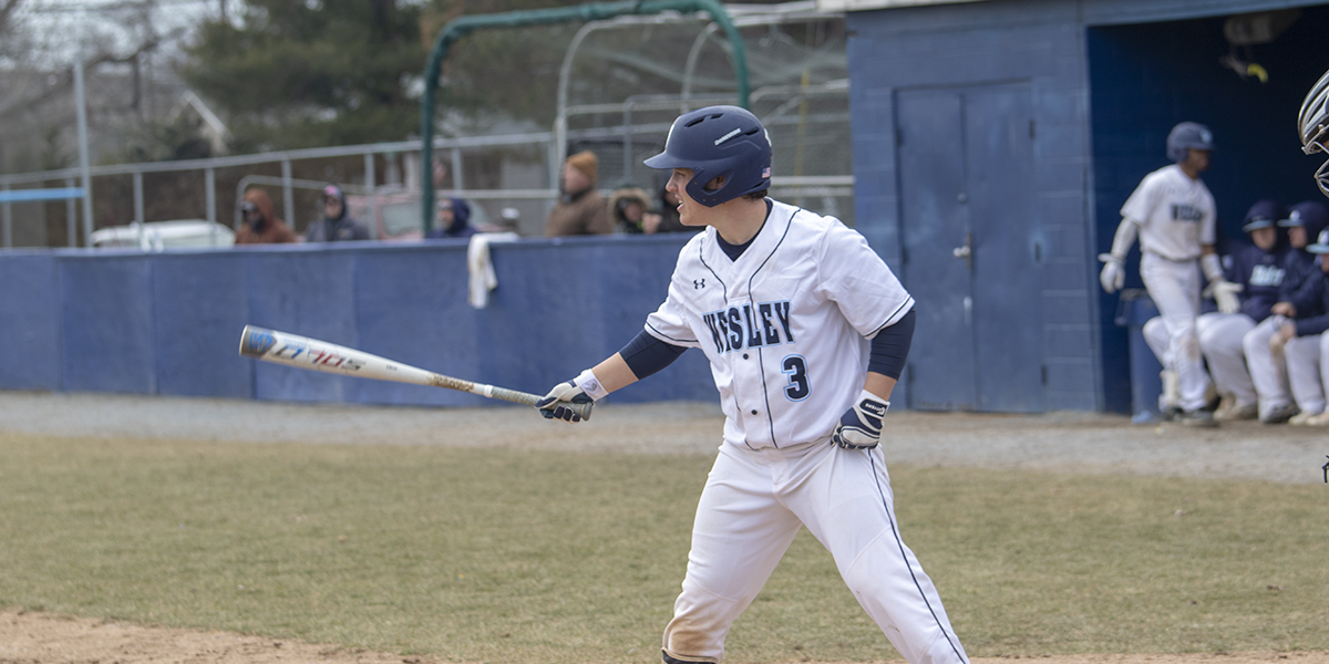 Baseball drops Atlantic East doubleheader to Cabrini