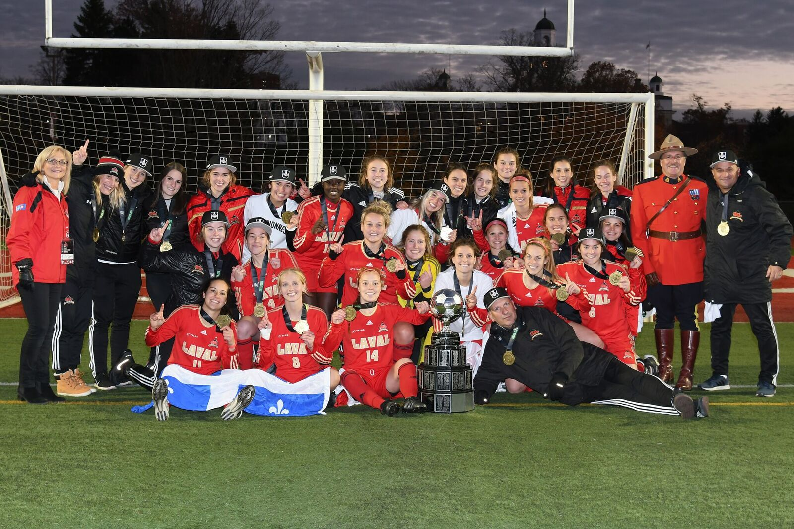 FINAL 2016 women's soccer championship: Rouge et Or crowned women's soccer champs after 2-1 win over UBC