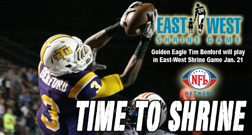 Tech's Tim Benford to play in East-West Shrine Game Jan. 21