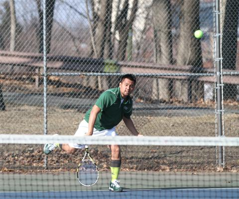 NYU-Poly tops Sage in Skyline Men's Tennis action