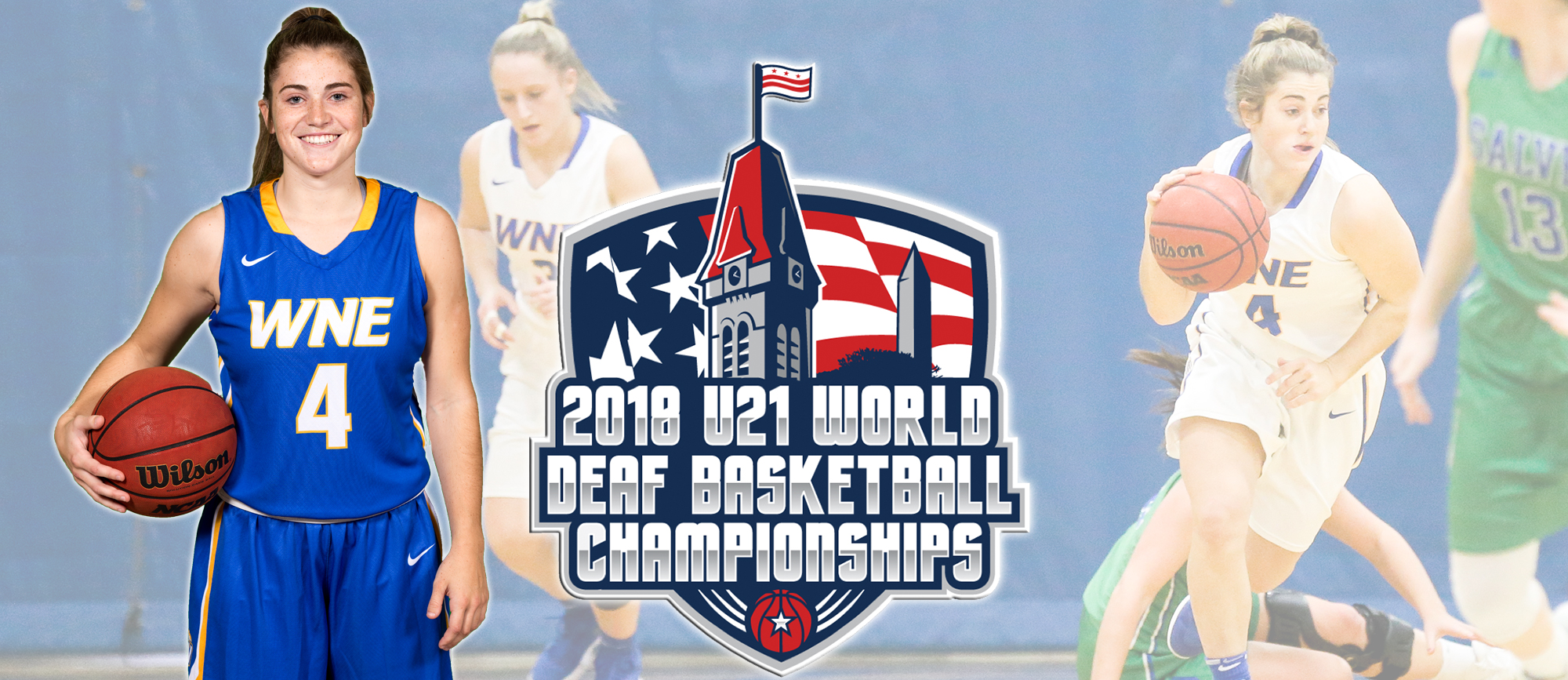 Lauren Chadwick to Represent USA at U21 World Deaf Basketball Championships in Washington, D.C.