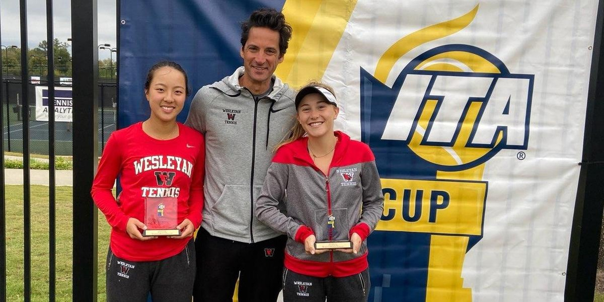 Henderson & Yu Finish Second in Doubles at 2019 ITA Cup.