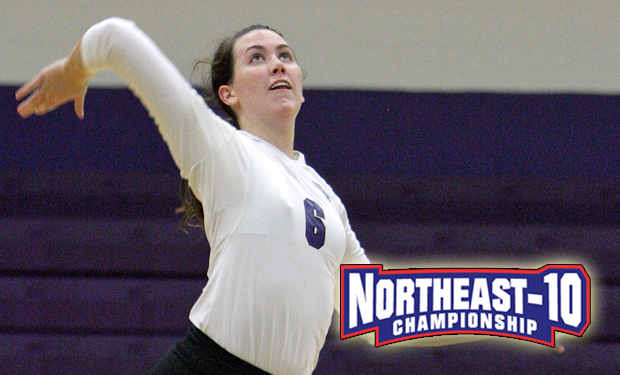 Higer Seeds Prevail During Quarterfinal Round of Northeast-10 Volleyball Championship