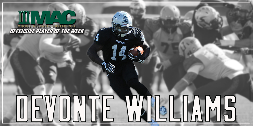 Devonte Williams Collects MAC Top Offensive Player Honors