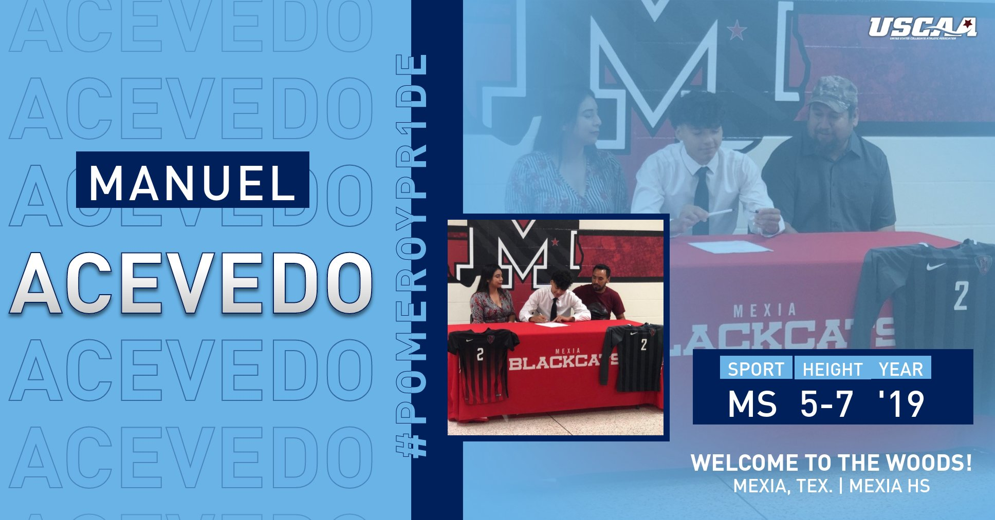 Men's Soccer Adds Mexia's Manuel Acevedo