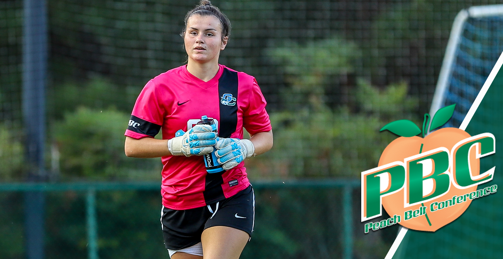 Freshman goalkeeper Kate Richardson