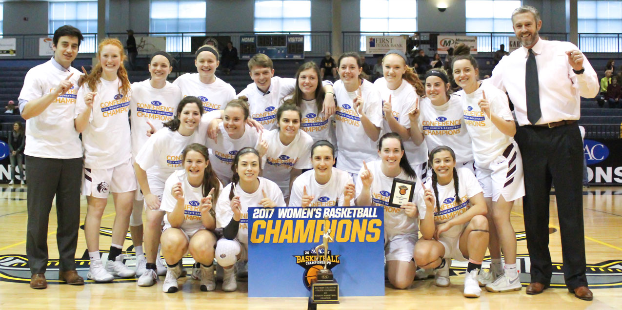 Repeat After Me; Trinity Wins SCAC Women's Basketball Title