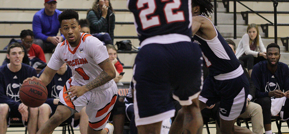 Four Pioneers score in double figures in 104-93 loss at Coker