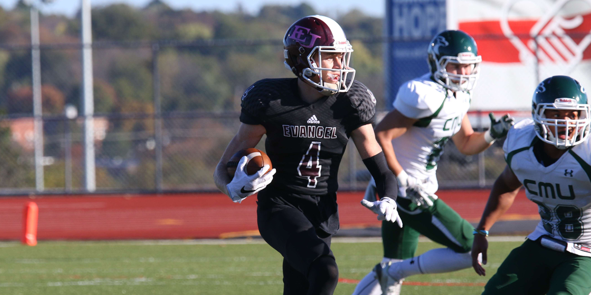 Evangel Football Unable to Overcome Slow Start at Benedictine