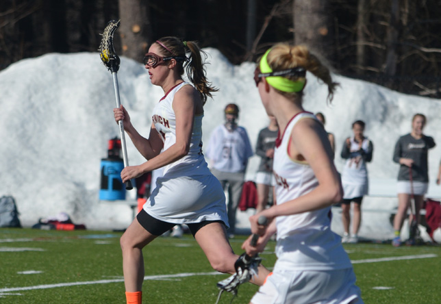 Women's Lacrosse: Fitzpatrick Hits Career Milestone as Norwich Bests Simmons 11-9 in GNAC Quarterfinals