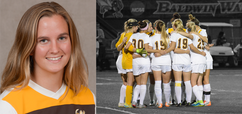 Senior Academic All-OAC defender Jenny Burdick