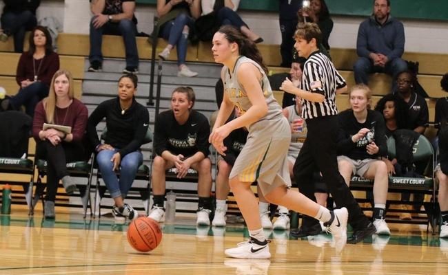 Lauren Anten led Keuka College with 20 points on Saturday -- Photo by Alexis Jones