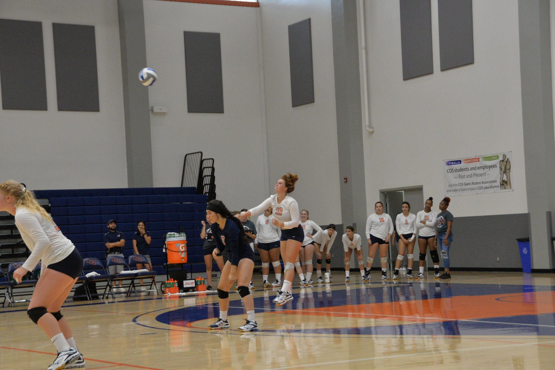 COS Volleyball Moves to 5-3